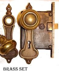 Antique Restoration Hardware, deco-door-knob-set-7