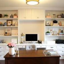 feminine home office. elegant feminine home office