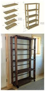 diy wood furniture projects. ana white build a reclaimed wood rolling shelf free and easy diy project diy furniture projects