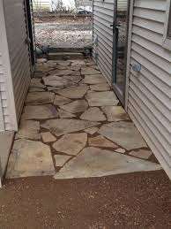 Exterior How To Lay Stone Walkway How To Lay Flagstone Walkway How To  Flagstone Path Rustic