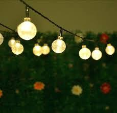 solar powered lights for garden solar led string lights crystal ball globe fairy lights for garden solar powered lights for garden