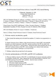 Example Of Meeting Minutes Template New Establishing The Sat Our First Meeting Minutes Of Template Doc Free