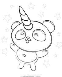 Pandacorno Da Colorare E Stampare Playingwithfirekitchencom