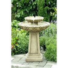 garden fountains near me outdoor water fountain bird bath for sale r15