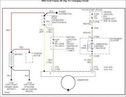 2001 ford taurus wiring diagram alternator pinterest taurus 2004 ford taurus stereo wiring diagram 2001 ford taurus wiring diagram