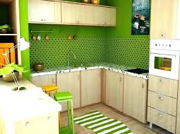 green kitchen rugs orange and kitchens interior washable living