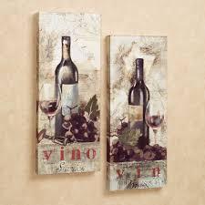 wall art ideas design kitchen tapestries wine canvas