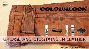 how to remove oil stain from leather