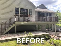 Would you recommend the sherwin williams porch and floor enamel for use on an uncovered older wooden deck, or would it be best to use a deck stain like super deck? How To Paint A Deck Grace In My Space