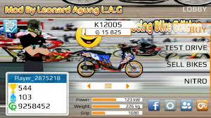 drag racing bike edition mod indonesian bike youtube