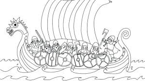Viking Coloring Pages Viking Coloring Pages Plus Ship Page Mythology