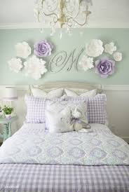 Home By Heidi: Purple Turquoise Little Girls Room
