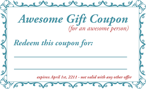 Best Solutions For Blank Birthday Coupon Template Of Sample Proposal
