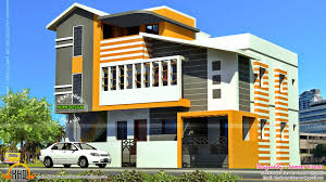 south indian contemporary home kerala home design and for 2 floor indian house plans