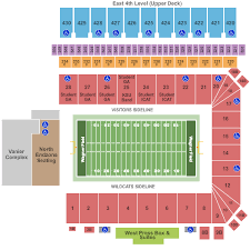 Wagner Field At Bill Snyder Stadium Seating Chart Manhattan