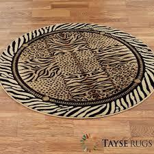 ds festival jungle round rug