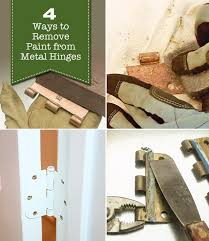 remove door from hinges. 4 ways to remove paint from metal hinges (\u0026 other door hardware) | pretty handy girl bloglovin\u0027