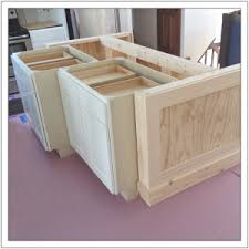 Build a DIY Kitchen Island Build Basic