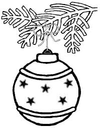 Small Picture Printable christmas decorations coloring pages Grootfeestinfo