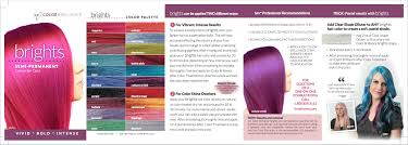Ion Permanent Hair Color Chart Intense Violet Factual Ion Color Brilliance Permanent Color Chart Ion