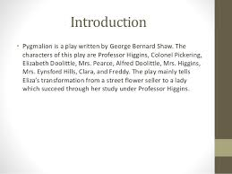 pyg on  george bernard shaw 3 introduction • pyg on