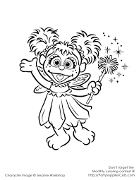 Sesame Street Coloring Pages Free At Getdrawingscom Free For