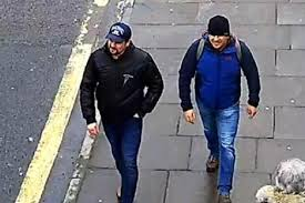 Image result for Two Russian 'agents' named as suspects behind Novichok poisoning in Salisbury