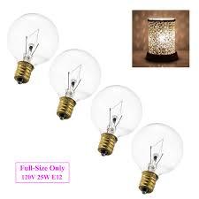 Scentsy 20 Watt Replacement Light Bulbs Amazon Com 4 Pack Wax Warmer Bulbs 120v 25 Watt