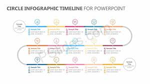 Timeline Powerpoint Slide Circle Infographic Timeline For Powerpoint Pslides