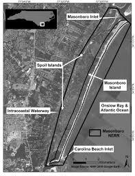 Carolina Beach Inlet Tide Chart Masonboro Island National Estuarine Research Reserve Is An