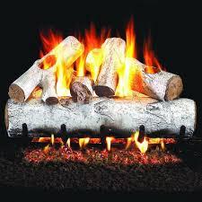beautiful gas fireplace logs birch with image gshepador storify