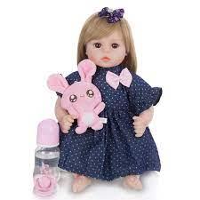 Búp Bê Em Bé Đồ Chơi Công Chúa Tóc Dài Giày Búp Bê Bebe Bé Gái Tái Sinh  Brinquedos 2020 Chất Lượng Cao Búp Bê Trẻ Em Bất Ngờ Tặng|Dolls