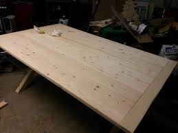 All i needed to do was put a small. Dining Table Construction Plywood General Woodworking Talk Wood Talk Online