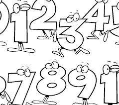 Coloring Pages Numbers Coloring 2018