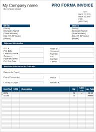 Performa Format Free 15 Sample Proforma Invoice Template In Google Docs