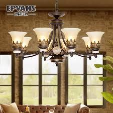 get ations american retro rustic wrought iron chandelier jane european restaurant bedroom lamps living room book room mediterranean