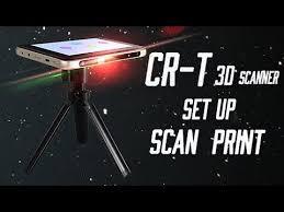 Creality CR-<b>T 3D</b> Scanner Set Up Scan 3D Print! - YouTube