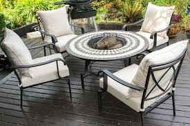 awesome indoor outdoor dining sets patio regarding fire pit luxury garden furniture extraordinary table with costco