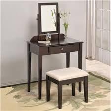 dark brown vanity table. crown mark iris vanity table \u0026 stool dark brown o