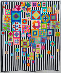 Gypsy Wife by Catherine Mosely, 2014   The Modern Quilt Guild & Gypsy Wife by Catherine Mosely, 2014.
