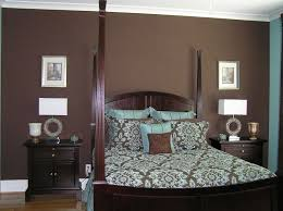Blue And Chocolate Brown Bedroom Ideas