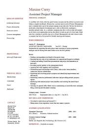 assistant manager skills assistant project manager resume sample template administration