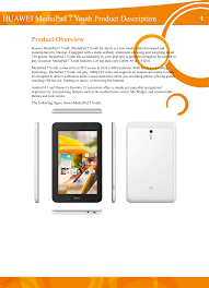 Huawei Media Pad 7 Youth Product ...