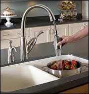 Kitchen sinks and faucets Double The House Designers Kitchen Sinks And Faucets The House Designers