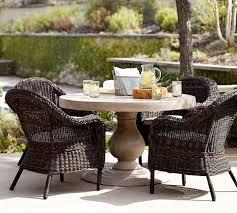 geneva concrete round 48 dining table