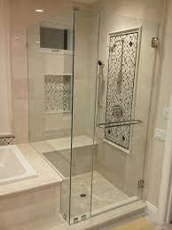 shower doors cost bathroom contemporary with lighting