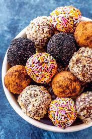 homemade chocolate truffles