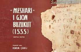 "Image result for ""Meshari"" i Gjon Buzukut."
