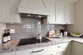 glass subway tile kitchen amazing gray modern with backsplash plans 4
