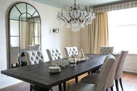 linen tufted dining chairs transitional room flax design with set from west elm sophisticated woode